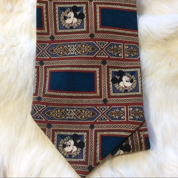 Disney Other - Disney Mickey Mouse Vintage Tie